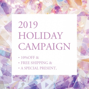 2019 HOLIDAY CAMPAIGN !!